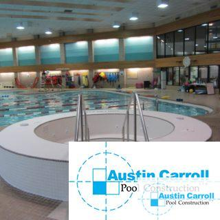 Whirlpool Spa installation at community pool