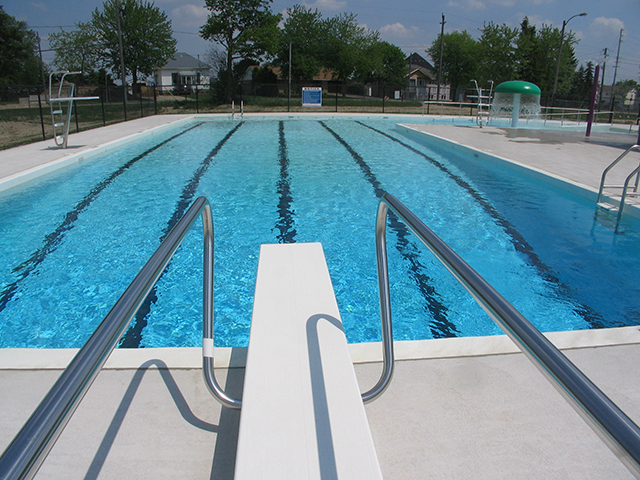 Community Pool Deck Accessories