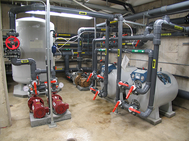 Community Pool Mechanical Equipment
