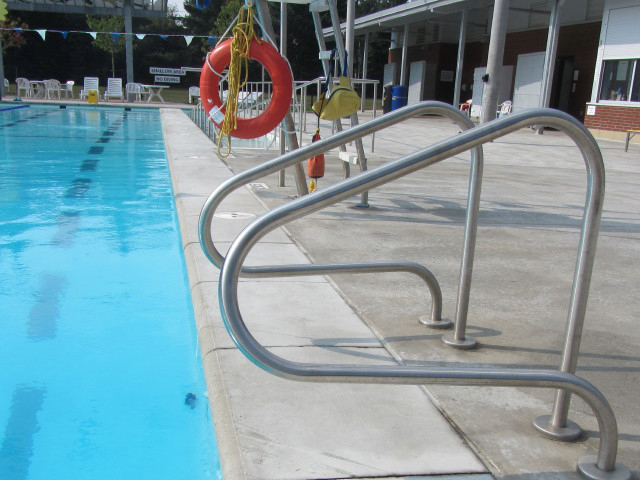 Community Pool Safety Equipment