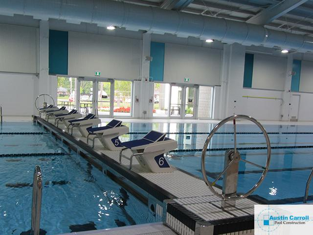 Community Pool Movable Bulkheads