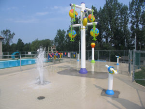 Spray Features - Splash Pad Installation